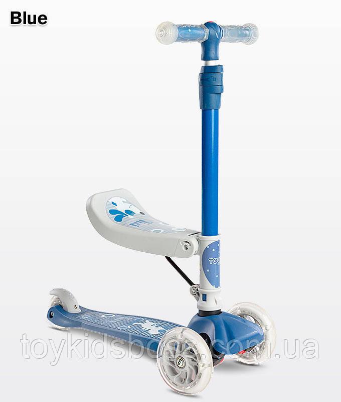 Самокат Caretero Tixi blue