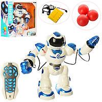 Робот на радиоуправлении 1029A, аккум, 41см, музыка, звук(англ), свет, ходит, танцует, стреляет шариками(3шт)