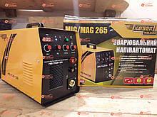 Сварочный полуавтомат инвертор 2в1 Kaiser MIG-265 (MIG / MAG / MMA)