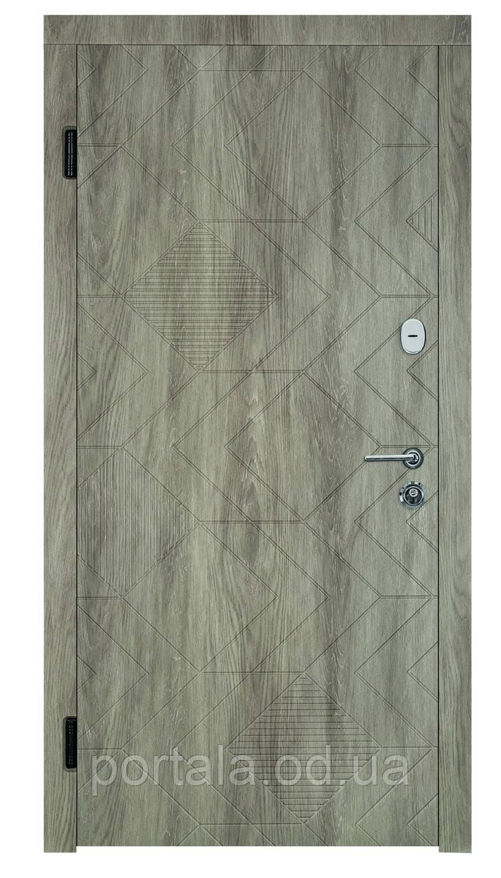 """Вхідні двері """"Портала"""" (серія Люкс) ― модель Ромбус"""