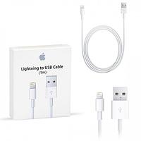 Oригинальный лайтнинг шнур зарядка на для айфон Apple USB Lightning