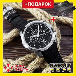 Наручные механические мужские часы Tissot T-Classic с автоподзаводом. Классические водонепроницаемые часы.