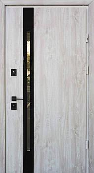 Входные двери Straj ул. серия Proof модель Slim Z с замками Mottura (с оцинкованной сталью 1мм) с черной ф-рой