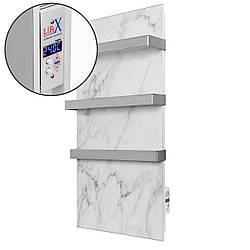 Керамический полотенцесушитель LIFEX W.Towel 500 (белый мрамор) с программатором