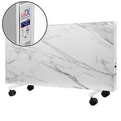 Напольный керамический обогреватель LIFEX D.Floor 1200 (белый мрамор) с программатором