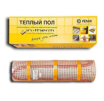 2,7м2 Тепла підлога електричний In-Therm ECO FENIX Чехія на 2.7 м. кв нагрівальний мат