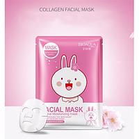 Маска для обличчя тканинна BioAqua Facial Animal Mask 30 гр