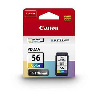 Струйный картридж Canon CL-56 оригинальный, цветной, чернильный (9064B001)