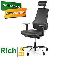 Кресло Barsky StandUp Leather кожанные кресла для офиса