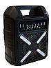 Колонка міні-валіза B706 з виходом на мікрофон, фото 5