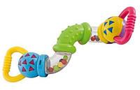 Развивающая игрушка для малышей Погремушка Змейка, 2/455 от рождения, Пакет малюка, Игрушки для самых