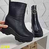 Ботинки женские осенние черные К2298, фото 2