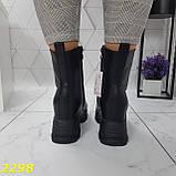 Ботинки женские осенние черные К2298, фото 3