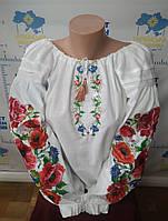 """Вишита сорочка """"Квіти-рукав"""", фото 1"""