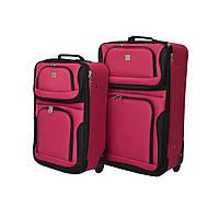 Набір валіз Bonro Best 2 шт вишневий