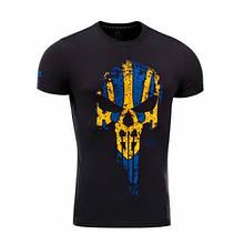M-Tac футболка Месник Black/Yellow/Blue 2XL