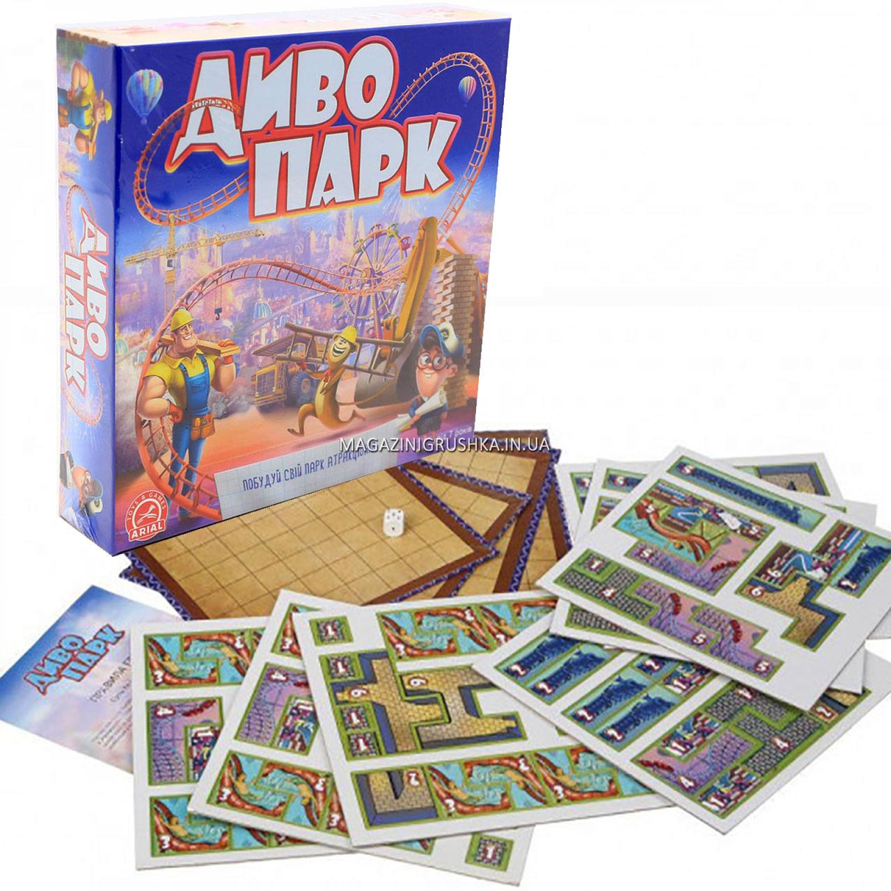 Настільна гра Arial «Диво-парк» (українська) 4820059911449