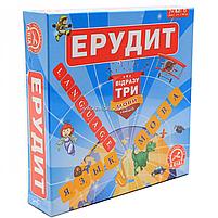 Настольная игра Arial «Эрудит» 3 в 1 (украинский, английский и русский) 4820059910091, фото 2