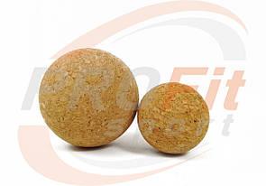 Мячик массажный пробковый 6,5 - 10 см