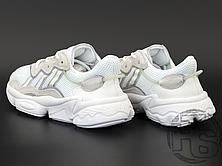 Женские кроссовки Adidas Ozweego Cloud White Grey Soft Vision EE7012, фото 3