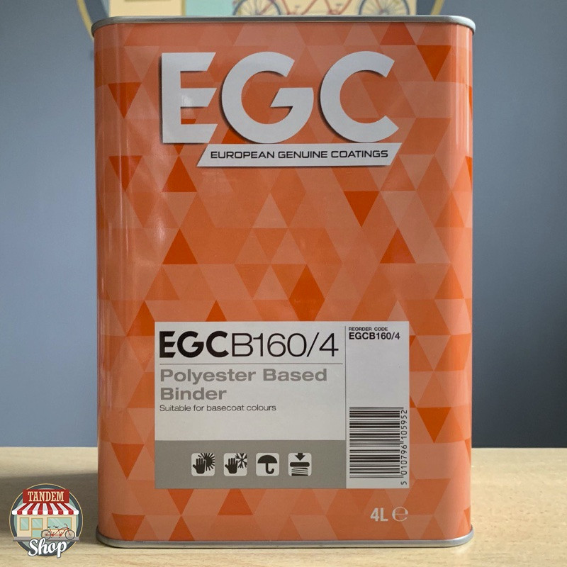 Биндер полиэфирный (распределение зерна металликов) U-POL EGC B160, 4 л