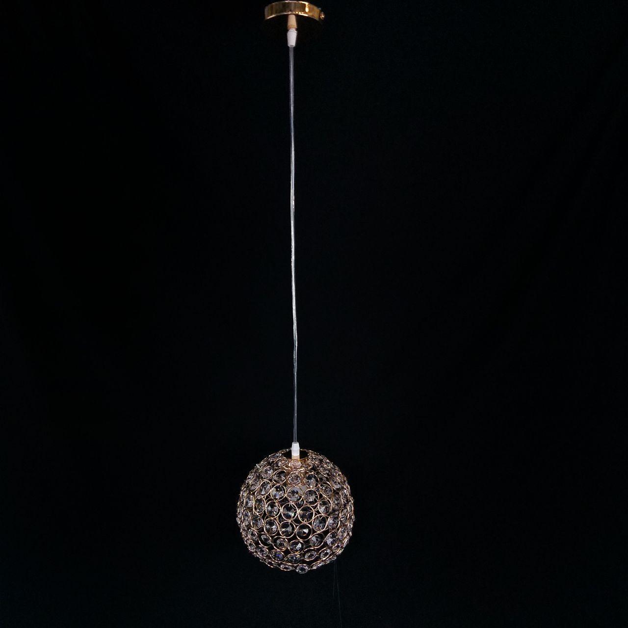 Люстра подвесная на одну лампу 29-1696/1(D200)FGD