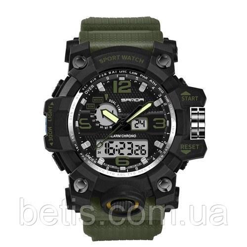 Sanda 742 Green-Black
