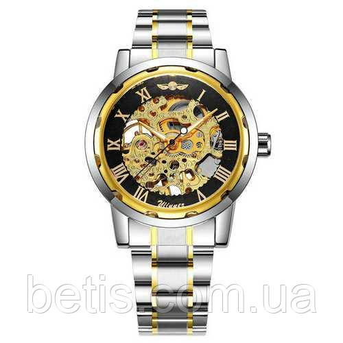 Winner 8012 Automatic Silver-Black-Gold
