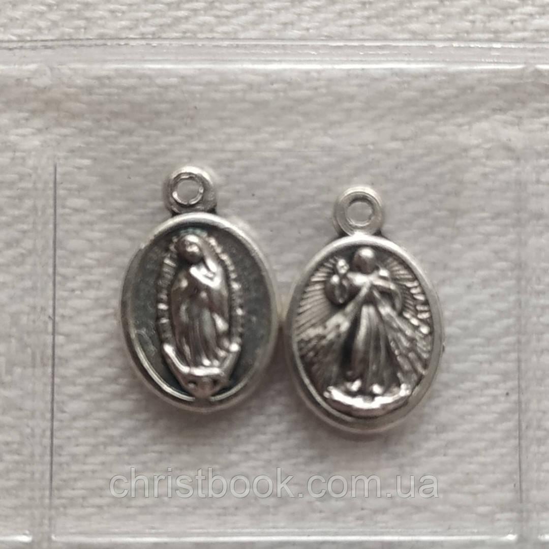Медалик Боже Милосердя/ Гваделупська Богородиця