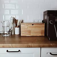Дерев'яний та глиняний посуд та приладдя для кухні