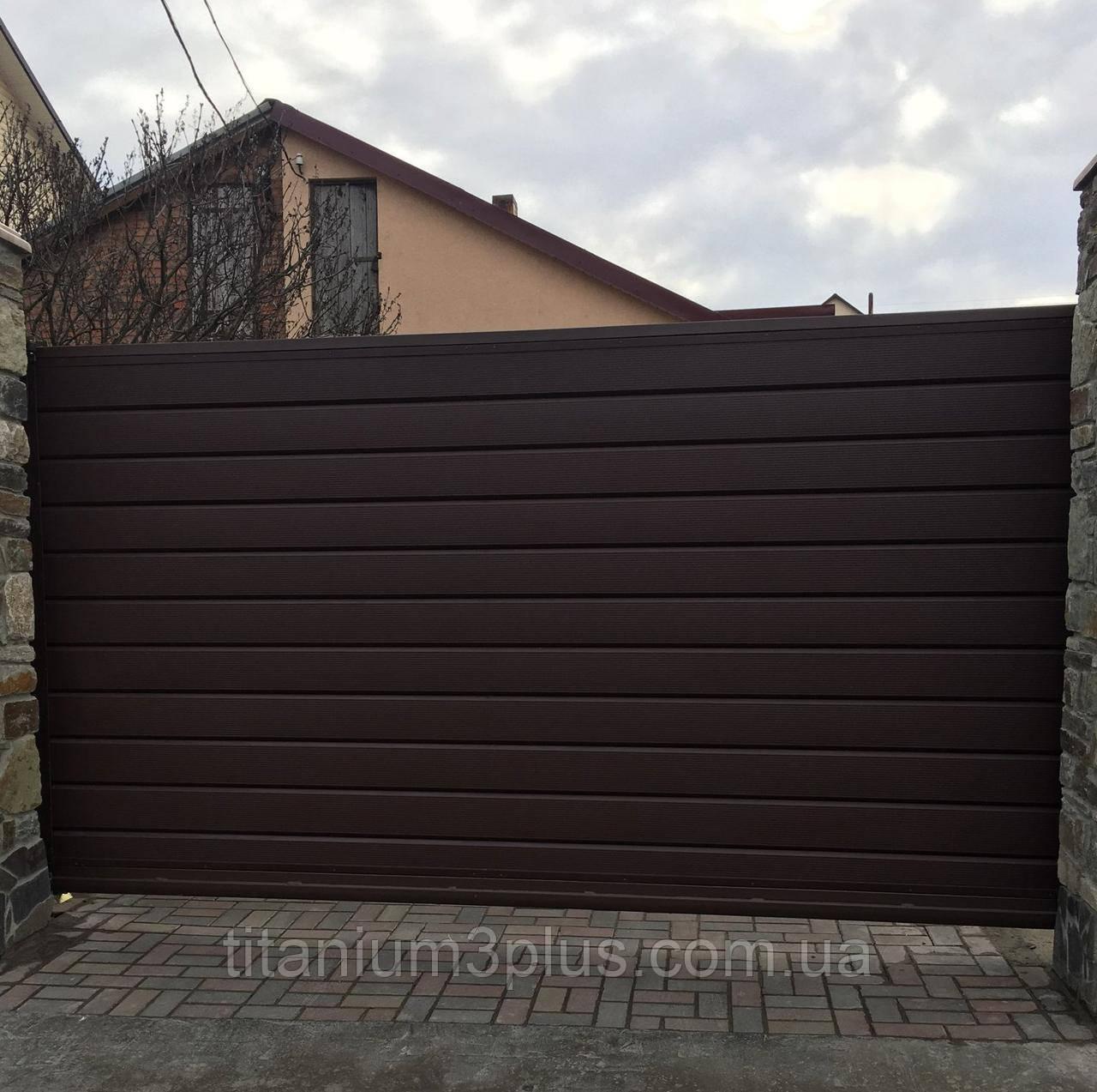 Откатные и распашные ворота любой конфигурации. Индивидуальный подход.