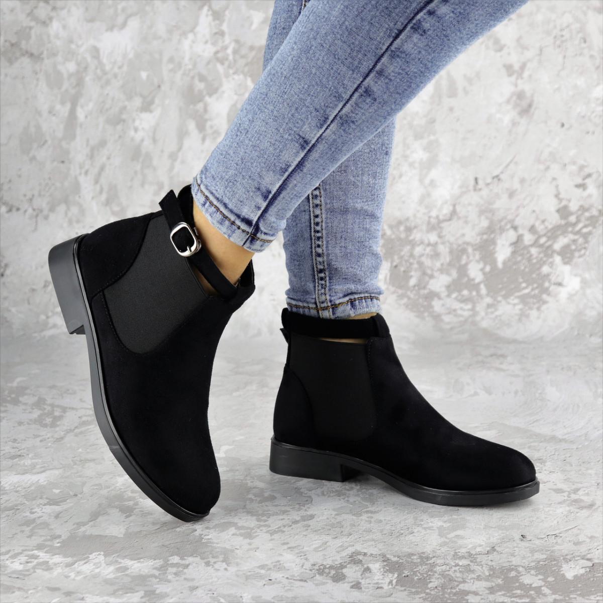 Ботиночки женские Fashion Vickie 1435 36 размер 23,5 см Черный