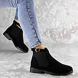 Ботиночки женские Fashion Vickie 1435 36 размер 23,5 см Черный, фото 2