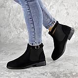 Ботиночки женские Fashion Vickie 1435 36 размер 23,5 см Черный, фото 3