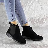 Ботиночки женские Fashion Vickie 1435 36 размер 23,5 см Черный, фото 4