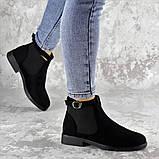 Ботиночки женские Fashion Vickie 1435 36 размер 23,5 см Черный, фото 5