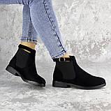 Ботиночки женские Fashion Vickie 1435 36 размер 23,5 см Черный, фото 6