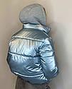 Женская молодежная демисезонная куртка Даша Размеры 38- 48 Цвет голубой, фото 6