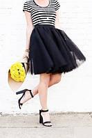 Юбка пачка из евро фатина черная (разные цвета), фото 1