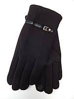 Жіночі сенсорні рукавички трикотаж/хутро від 10 пар оптом