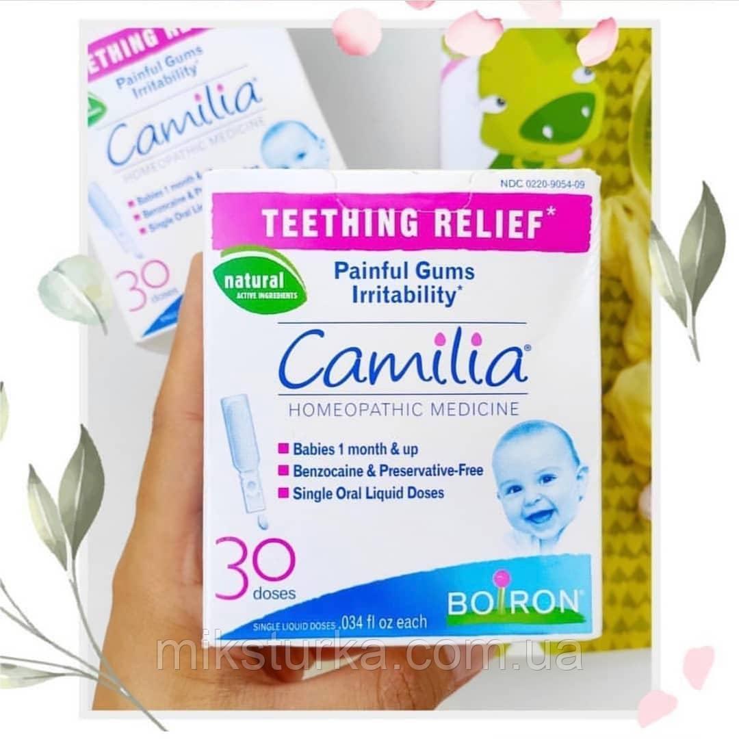 Camilia, обезбаливание при прорезывании зубов, iHerb, США