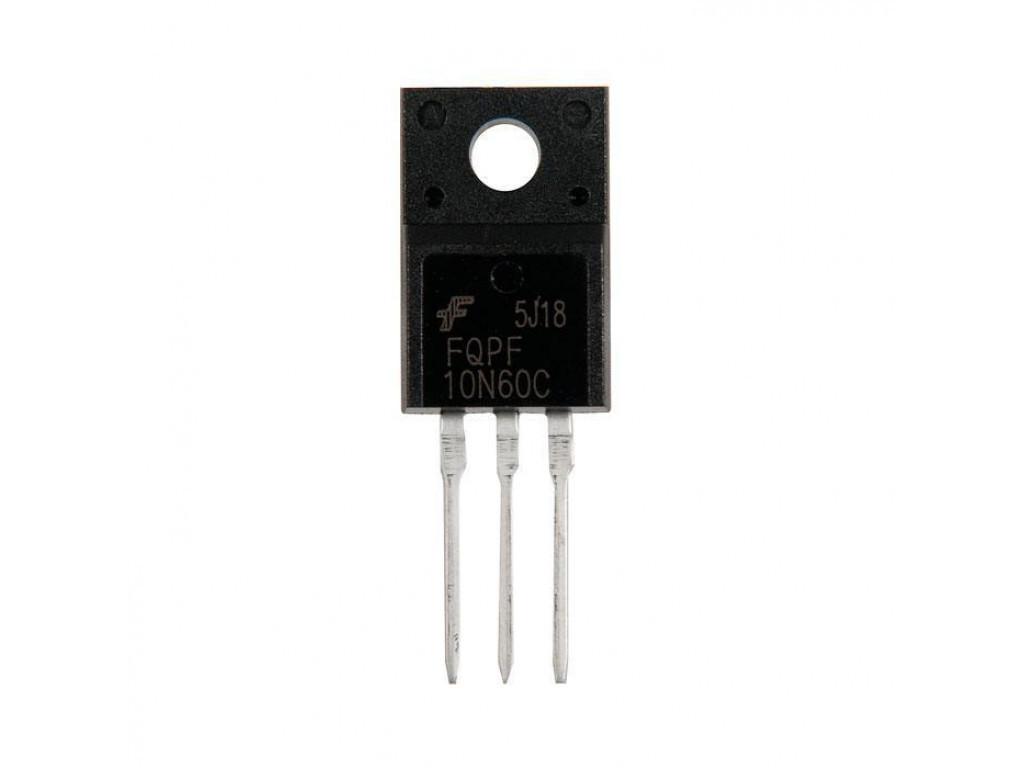 Транзистор полевой FQPF10N60C