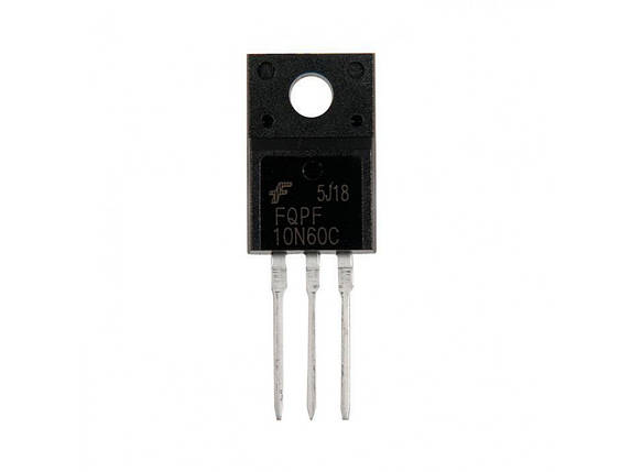 Транзистор полевой FQPF10N60C, фото 2