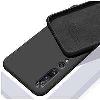 Чехол Silicone Case Full для Xiaomi Mi 10/10 Pro black