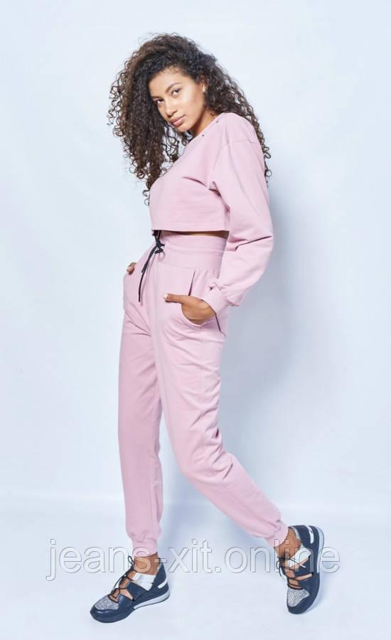 Fashion костюм Жін. 38(р) пудра 7210 Poliit Україна Осінь-C