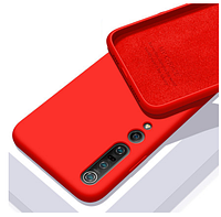 Чехол Silicone Case Full для Xiaomi Mi 10/10 Pro Red