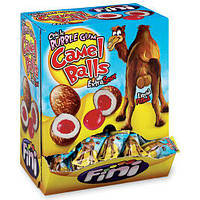 Блок жвачек Fini Camel Balls Extra Sour Bubble Gum 200 шт, фото 1