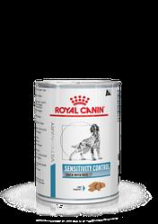 Консервований корм Royal Canin Sensitivity Control Роял Канін Сенсітівіті дієта д / соб з куркою 420