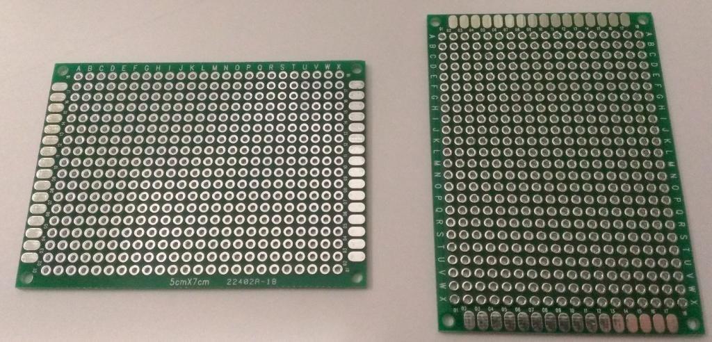 PCB 5x7 двухсторонняя печатная плата [#2-4]