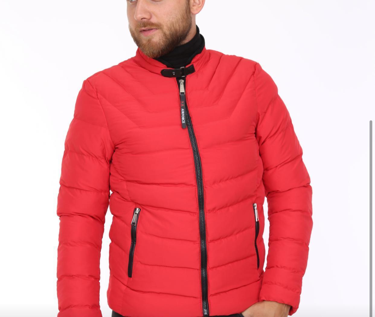Куртка еврозима мужская холлофайбер Турция S-2XL